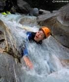 activités découverte dans le 05 sur une demi-journée Fournel Canyon enfant