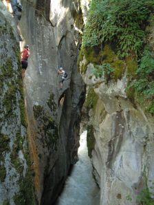 Cours, stages via ferrata briançonnais avec un moniteur (Hautes Alpes - 05)