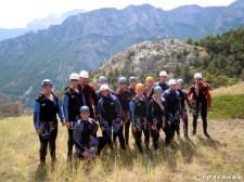 Stage canyon dans les Hautes Alpes - Vacances d'été