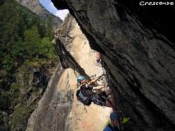 Sorties Via ferrata Pelvoux - parcours sportifs dans les Hautes Alpes (05)