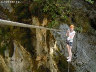 via ferrata Pelvoux - sport fun Hautes Alpes