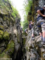 Activités de loisirs dans les Hautes-Alpes - Vacances - via ferrata Pelvoux