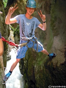 Via ferrata SIMI - activités jeunes - Hautes Alpes