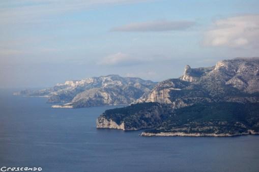 Cap Canaille- Calanques - moniteur d'escalade calanques