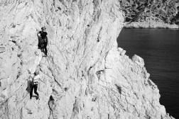 Stage d'escalade dans les Calanques - Bec de Sormiou