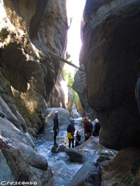 activités vacances dans les Hautes Alpes 05 - Fournel Canyon enfant