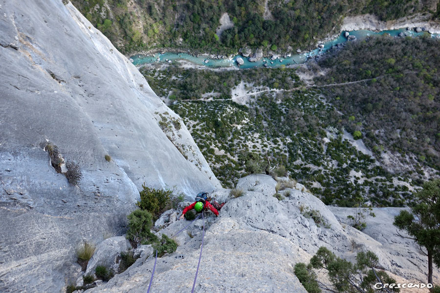 Stage Verdon : escalade et mythes