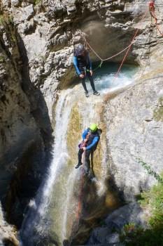 Canyoning découverte, une activité à sensations dans les Hautes Alpes