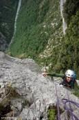stage terrain d'aventure de notre formation pour devenir moniteur d'escalade