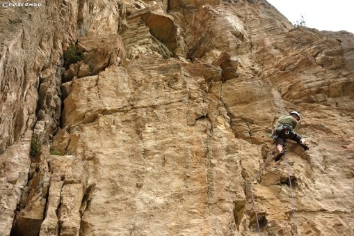 escalade en grande-voie,formation escalade, hautes-alpes, ponteil