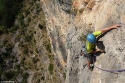 grandes-voies dans les hautes-alpes, ponteil
