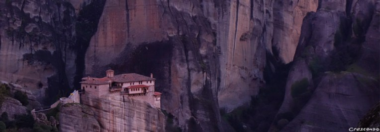 escalade aux Météores, escalade en grande voie, monastère Grèce
