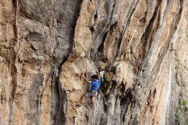 escalade sportive Grèce, meteora climbing
