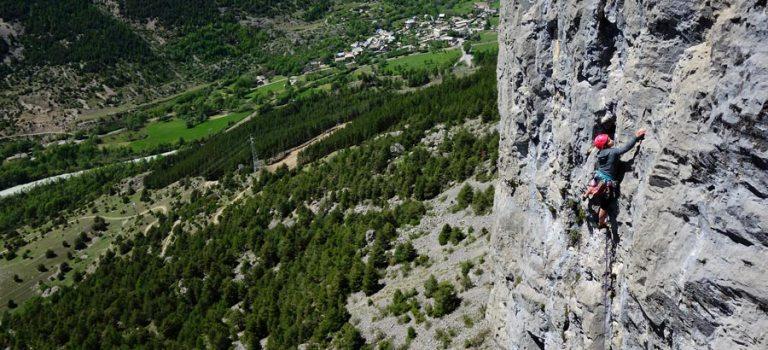 Grandes voies sur le calcaire du Val de Durance