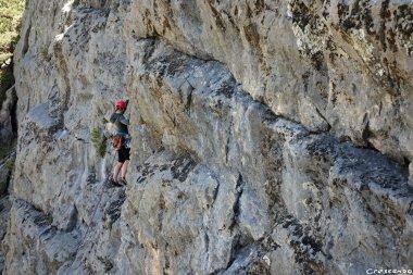Hautes Alpes escalade, grande voie 05, grande voie escalade