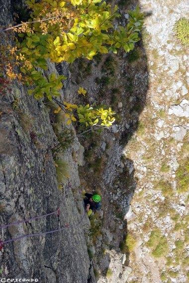 granite en grande voie, escalade en grande voie
