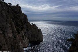 pilier est de l'Eissadon, grimper dans les Calanques, grande voie Calanques