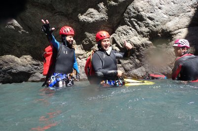 formation canyon, formation hautes-alpes, canyoning guide