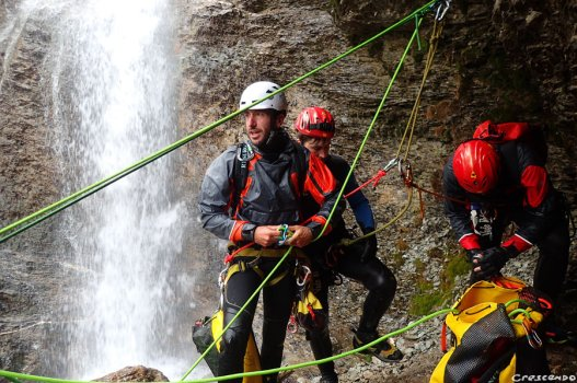 formation canyon, formation canyoning, canyon hautes-alpes