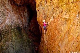 grimper dans les Calanques, séjour grande voie