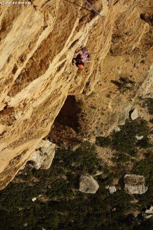 grimper en grande voie, séjour en grande voie