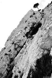 guide escalade, Dièdre Guem