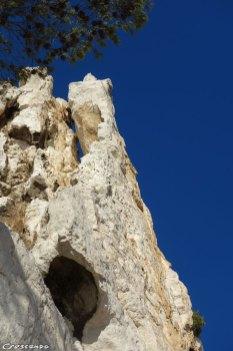 Chemin Roucas Blanc, Calanques escalade, grande voie dans les Calanques