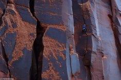 Trad climbing, escalade Trad
