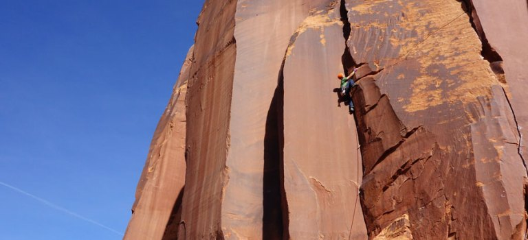 Grimpe autour de Moab-Utah… Indian Creek et desert tower