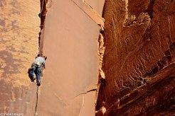 Indian Creek, stage escalade terrain d'aventure, trad climbing, stage escalade