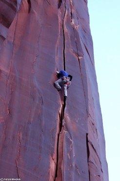 grimper aux USA, grimpe voyage, séjour escalade fissure