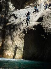 canyoning sportif,canyoning hautes-alpes, canyon Réallon