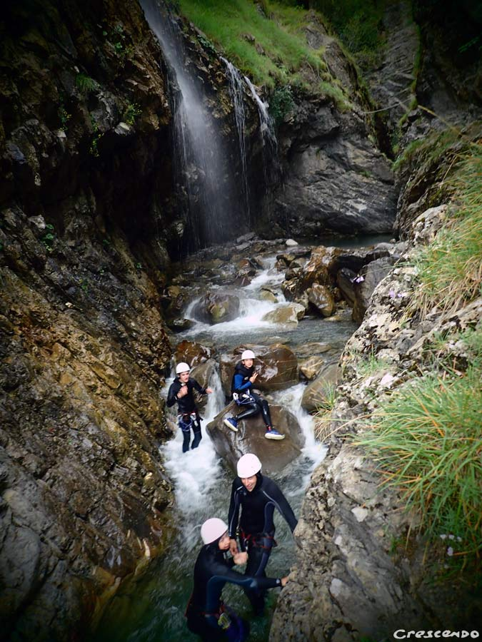 Serre ponçon outdoor, EMbrun canyoning