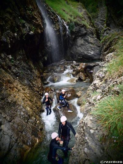Serre ponçon outdoor, EMbrun canyoning