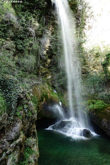 cascase Omblèze, gorges d'Omblèze