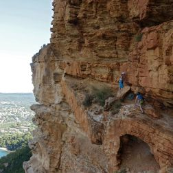 Escalade Ouvreur de Bouse, grimper en grande voie