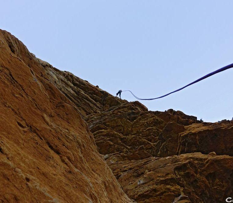 grimper dans les Calanques
