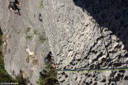 rocher Verdon, moniteur grande voie
