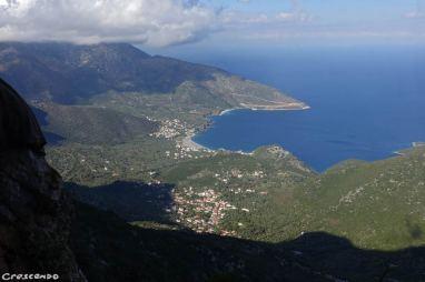 Kyparissi climb, escalade moniteur, guide escalade