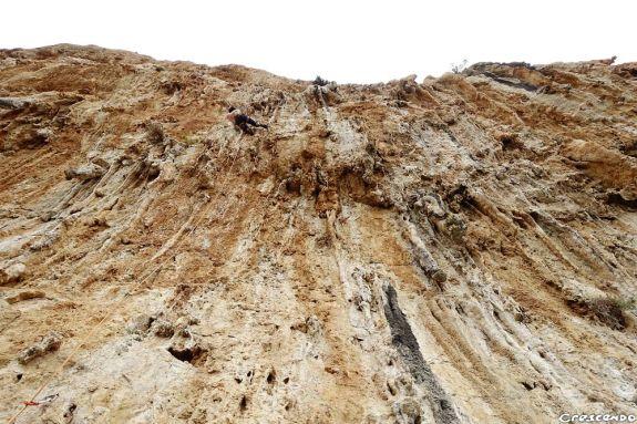 Cave of Panagia, Leonidio premières longueurs du séjour, longueurs toutes grandioses