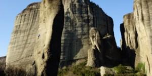 escalade Météores, sejour escalade Météores, voyage escalade grande voie, grande voie Grèce