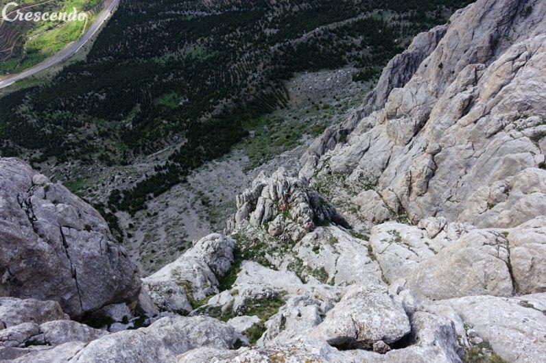Yelatan wall, escalade Aladaglar