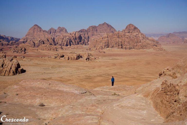 voyage Jordanie, climbing Jordan, Wadi Ram