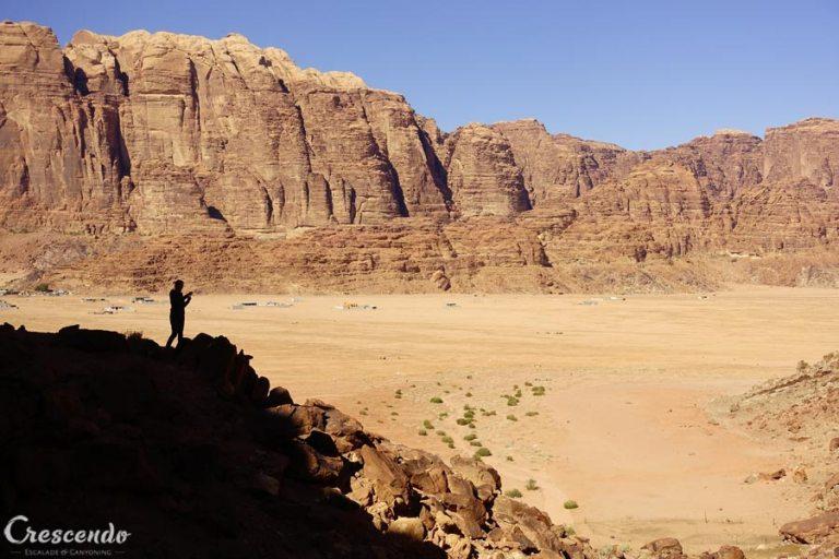 stage d'escalade, séjour d'escalade, guide Jordanie