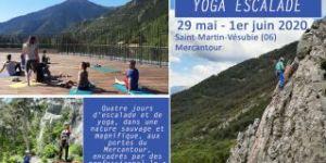 Yoga escalade, initiation escalade