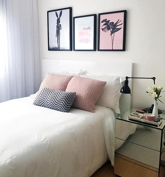 redecorar o quarto com quadros