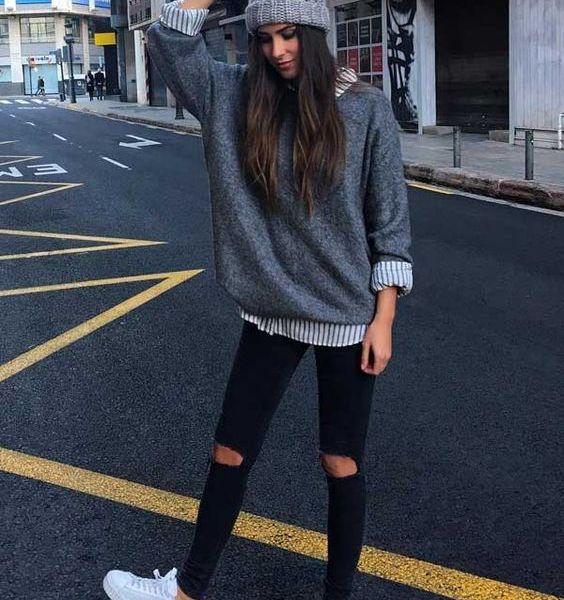 look tumblr feminino inverno