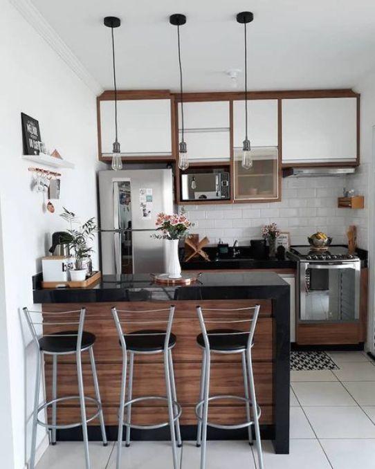 ideias de decoração de cozinha pequena