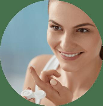 vantagens da lente de contato
