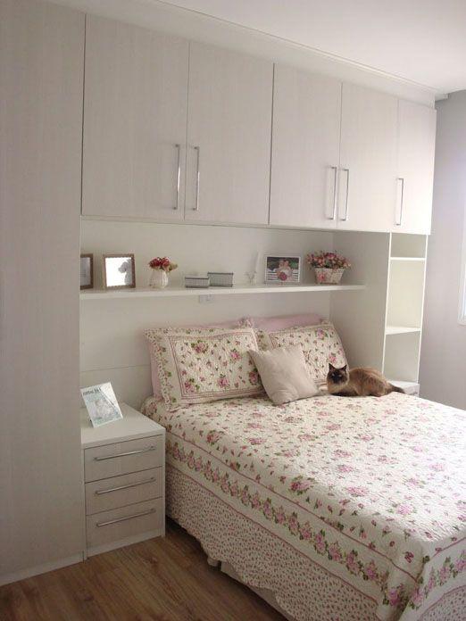 decoração de quarto pequeno de casal